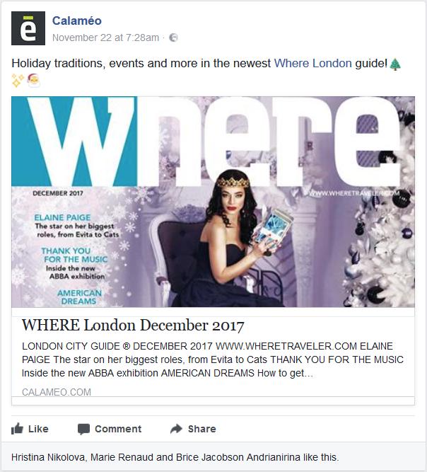 Where London December